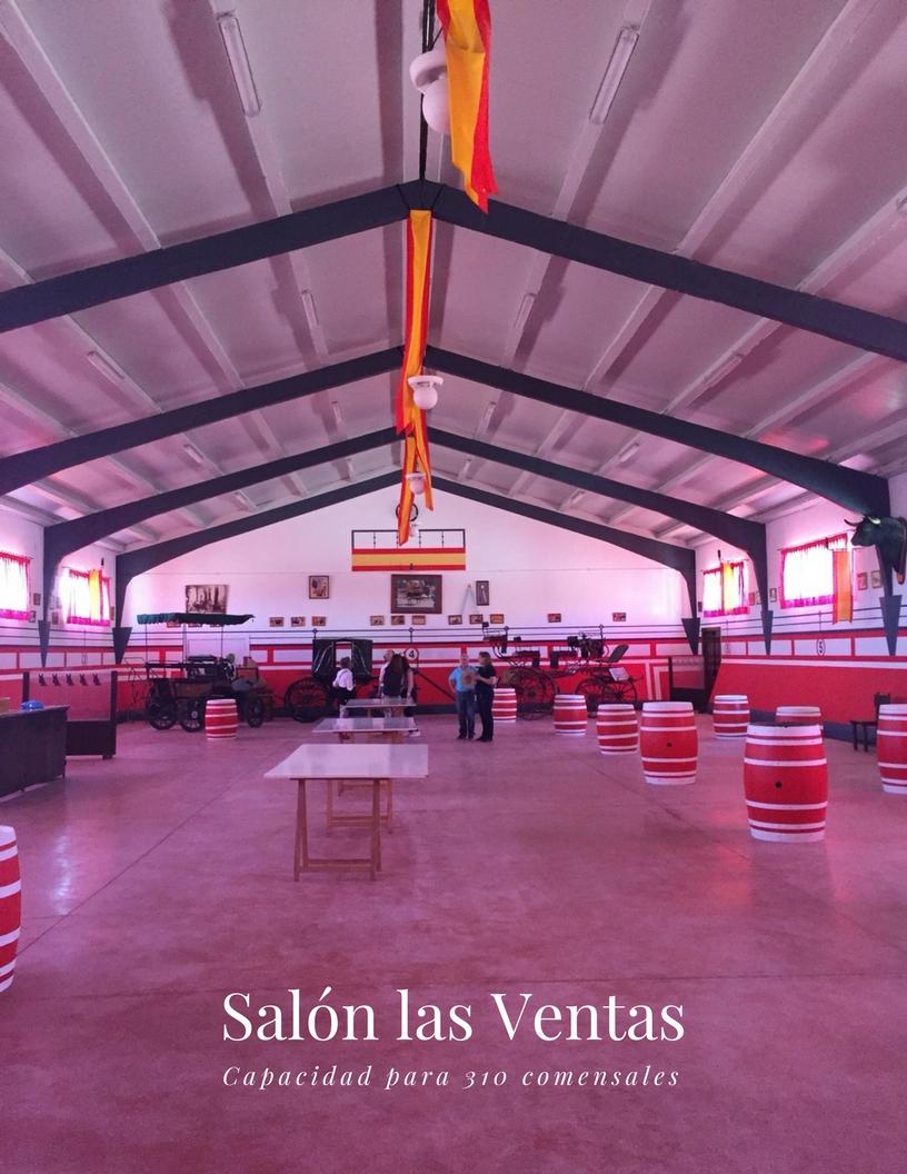 CORTIJO LOS EXPOLIOS SALON LAS VENTAS