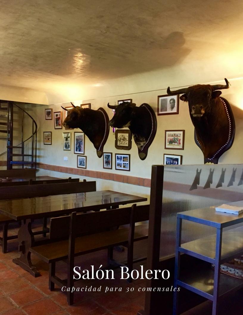CORTIJO LOS EXPOLIOS SALON BOLERO